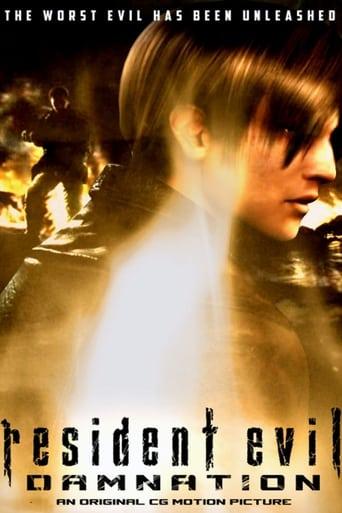 Poster of Resident Evil: Damnation
