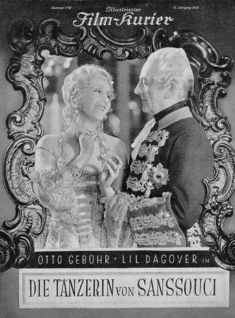 Poster of Die Tänzerin von Sanssouci