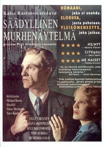 Poster of Säädyllinen murhenäytelmä