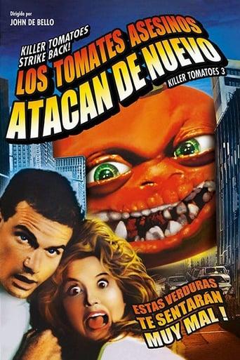 Poster of Los tomates asesinos atacan de nuevo