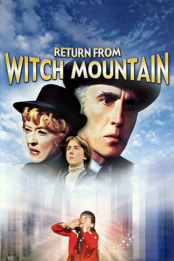 Poster of Return from Witch Mountain
