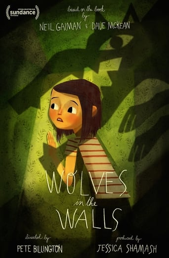 Poster of Wolves in the Walls: It's All Over