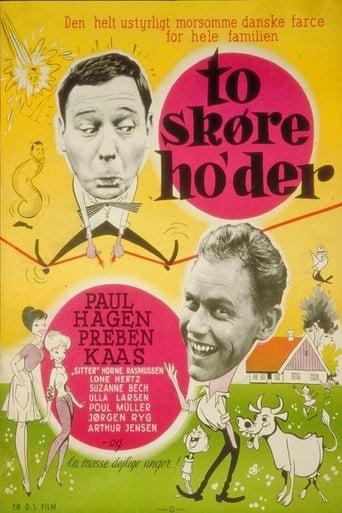 Poster of To skøre ho'der