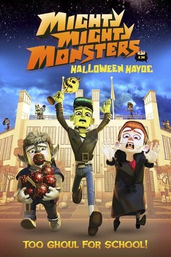 Poster of Mighty Mighty Monsters in Halloween Havoc
