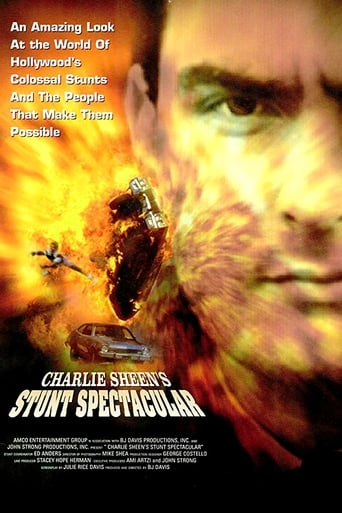 Poster of Charlie Sheen's Stunts Spectacular