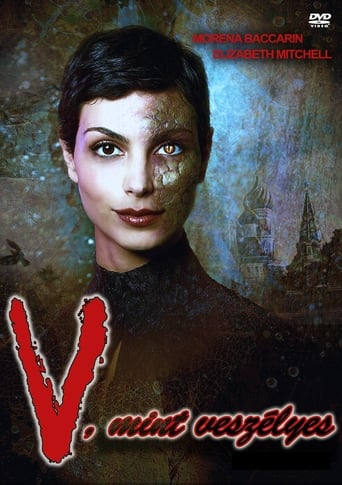 Poster of V, mint veszélyes