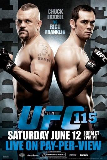 Poster of UFC 115: Liddell vs. Franklin