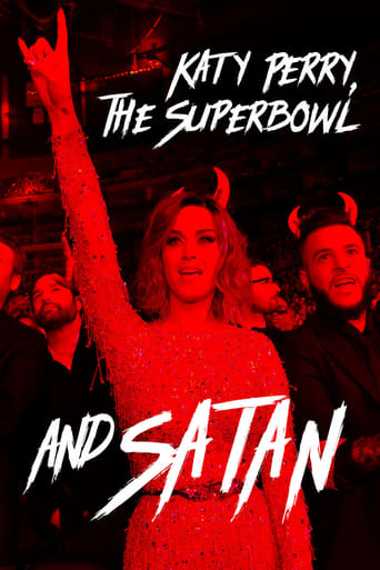 Poster of Katy Perry, the Super Bowl and Satan