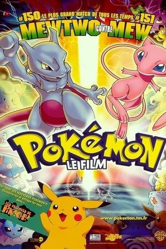 Poster of Pokémon 01 - Mewtwo contre Mew