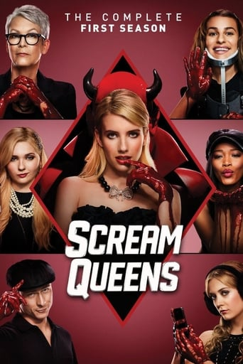 Scream Queens 1ª Temporada - Poster