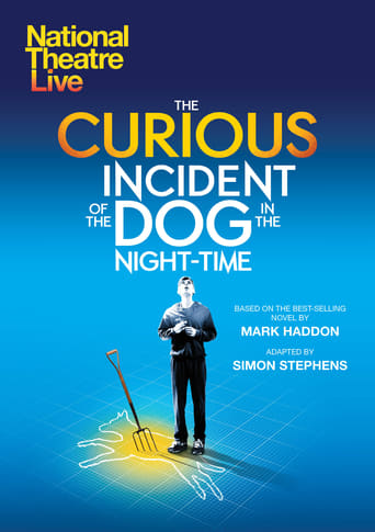 Poster of National Theatre Live: The Curious Incident of the Dog in the Night-Time