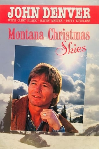 Poster of Montana Christmas Skies
