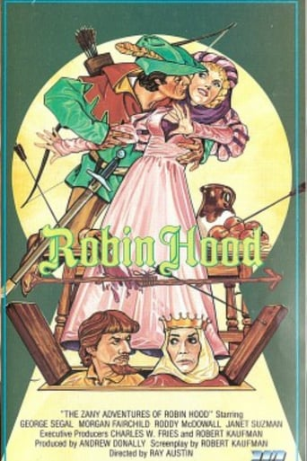 Poster of The Zany Adventures of Robin Hood