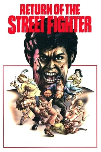 Poster of Return of the Street Fighter