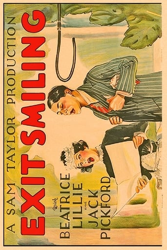 Poster of Exit Smiling fragman