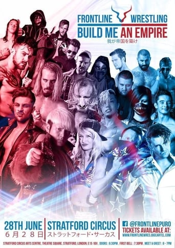 Poster of Frontline Wrestling: Build Me An Empire