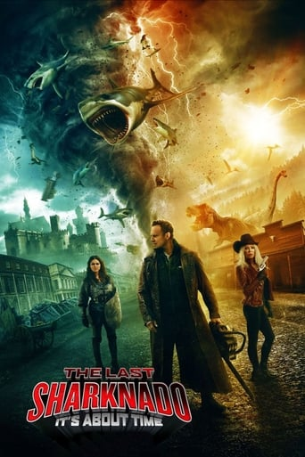Poster of The Last Sharknado: It's About Time