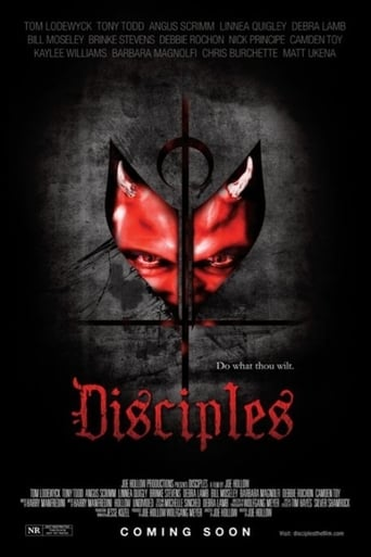 Disciples (2014) - poster