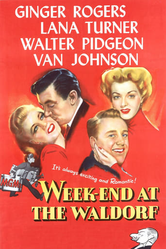 Poster of Week-End at the Waldorf