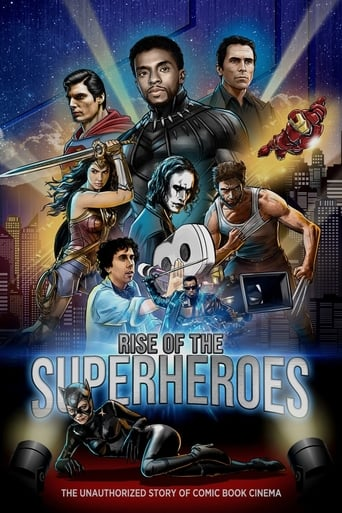 Poster of Rise of the Superheroes