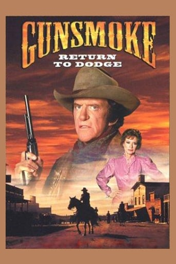 Poster of Gunsmoke: Return to Dodge