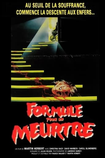 Poster of Formula for a Murder