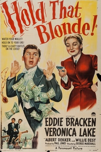 Poster of Hold That Blonde!