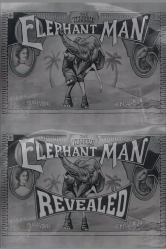 Poster of The Terrible Elephant Man Revealed