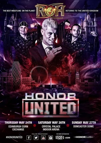 Poster of ROH Honor United: London