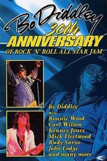 Poster of 30th Anniversary of Rock 'n' Roll All-Star Jam: Bo Diddley