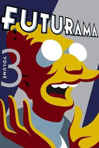 Futurama 3ª Temporada - Poster