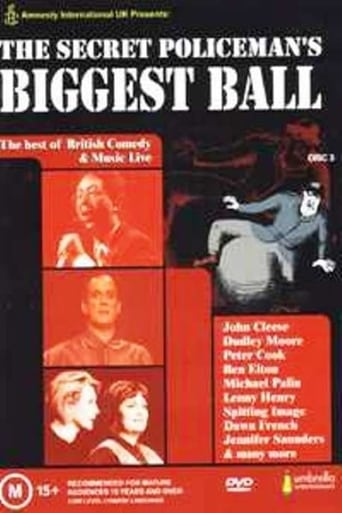 Poster of The Secret Policeman's Biggest Ball