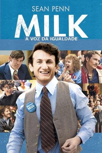 Milk: A Voz da Igualdade - Poster
