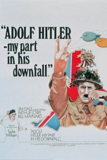 Poster of Adolf Hitler - My Part in His Downfall