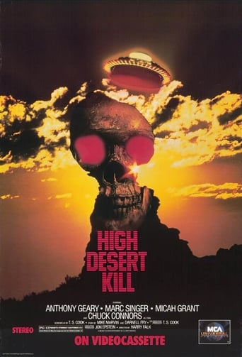 Poster of High Desert Kill