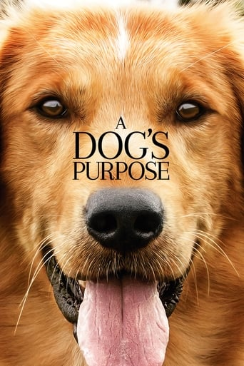 Official movie poster for A Dog's Purpose (2017)