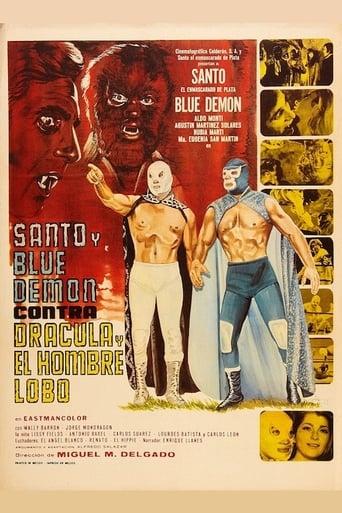 Santo und der blaue Dämon contra Dracula und Werwolf