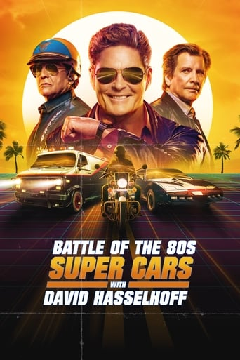Poster of Battle of the 80s Supercars with David Hasselhoff