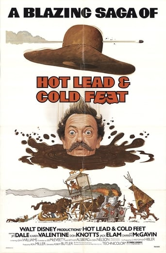 Poster of Hot Lead & Cold Feet