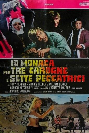 Poster of Io monaca... per tre carogne e sette peccatrici