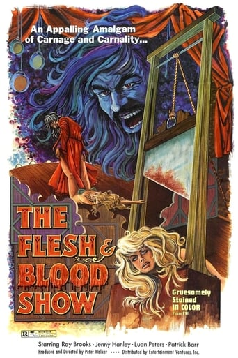 Poster of The Flesh and Blood Show