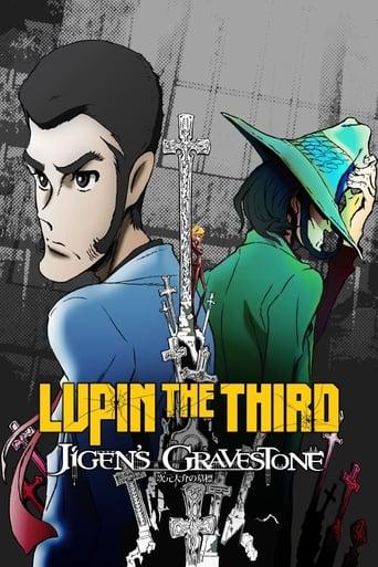 Poster of Lupin the Third: Daisuke Jigen's Gravestone