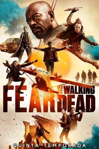 Fear the Walking Dead 5ª Temporada - Poster