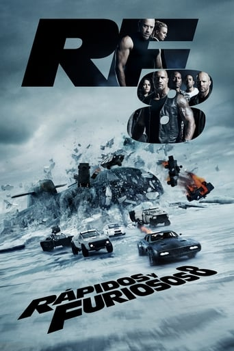 Poster of Fast & Furious 8