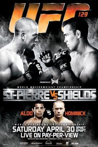 Poster of UFC 129: St-Pierre vs. Shields