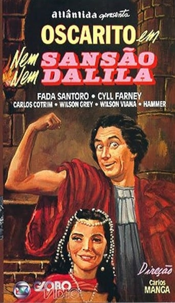 Poster of Nem Sansão Nem Dalila