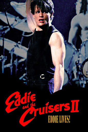 Eddie and the Cruisers II: Eddie Lives! Poster
