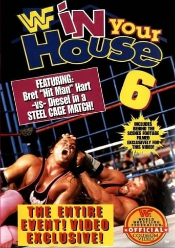 Poster of WWE In Your House 6: Rage in the Cage