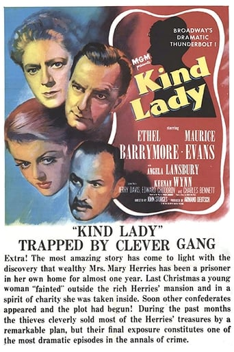 Poster of Kind Lady