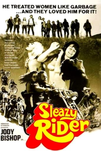 Poster of Sleazy Rider